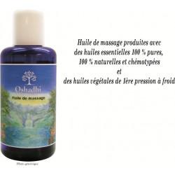 Huile de massage corporelle Silhouette