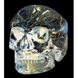 Crâne en cristal de roche